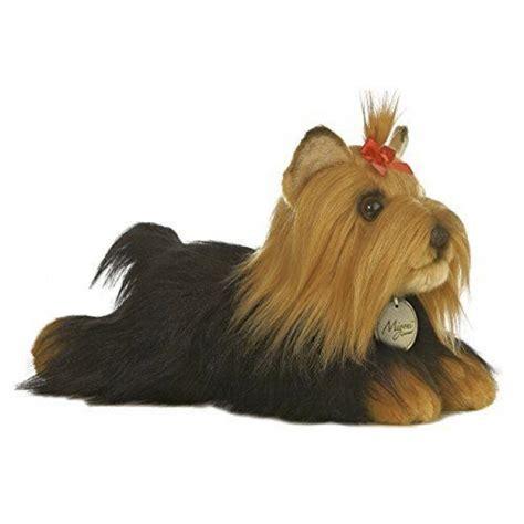 stuffed yorkie puppy terrier puppy plush miyoni