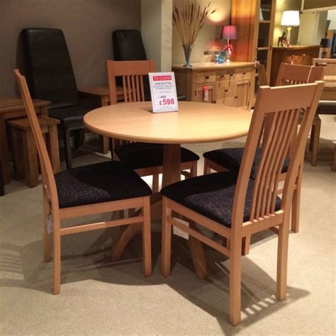 sheraton dining table  chairs clearance