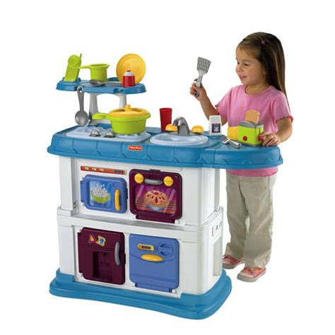 Fisher Price Kitchen Playset grow with me kitchen