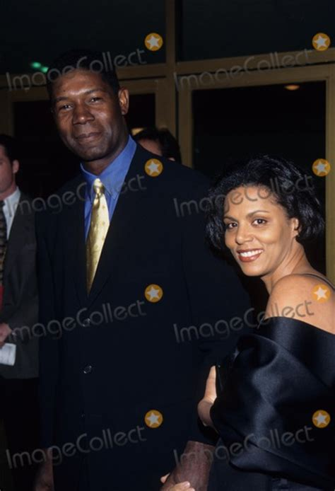 dennis haysbert wife elena simms photos and pictures dennis haysbert with wife absolute