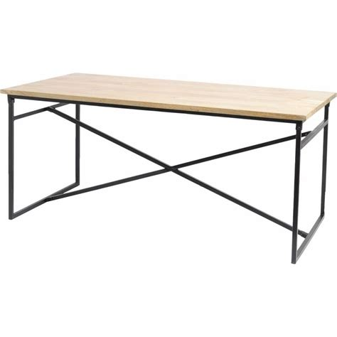 solid wood table and bench buy libra industrial dining set of solid mango metal at