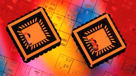 integrated circuits and silicon chips integrated circuits with covers showing silicon chips stock footage 3330656