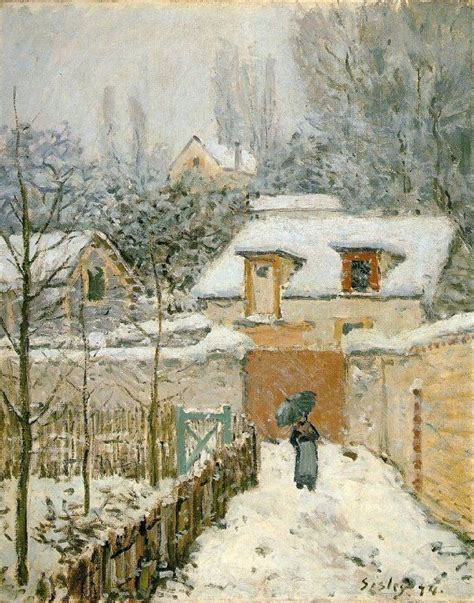 L Painting by Alfred Sisley