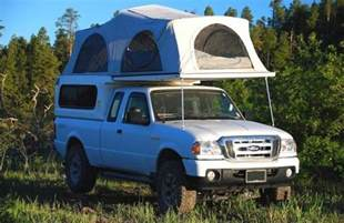 Fold Out Bed ford ranger camper options for ford ranger camping