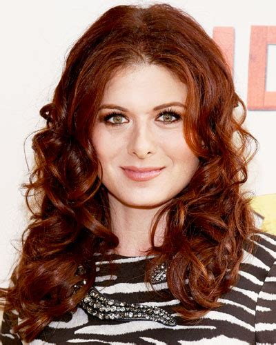 debra messing hair color debra messing s auburn fall 2012 hair color the