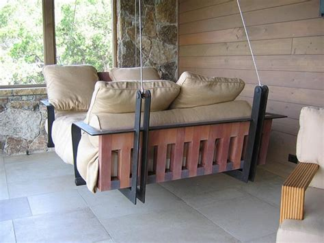 hanging porch bed hanging porch swing modern bed design archvision studio
