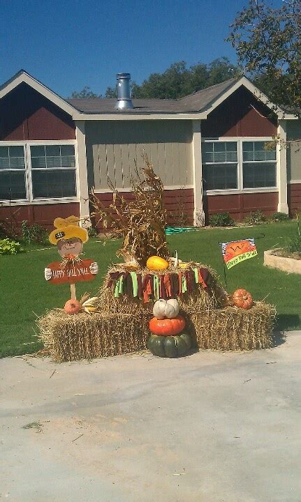 fall hay bale decorating ideas fall decor hay bales pumpkin pie spice