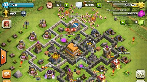 layout level 6 town hall clash of clans builder best town hall 6 layouts
