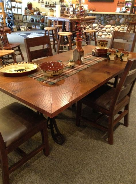 copper dining room table copper top dining room tables adwhole tag