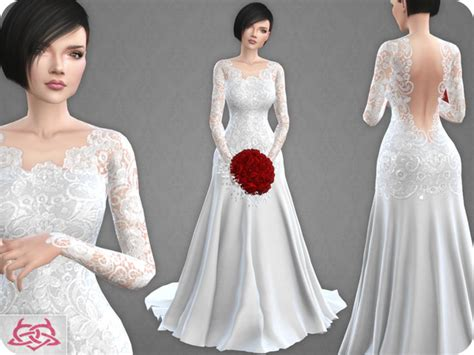 Wedding Dress 10 by Colores Urbanos at TSR » Sims 4 Updates