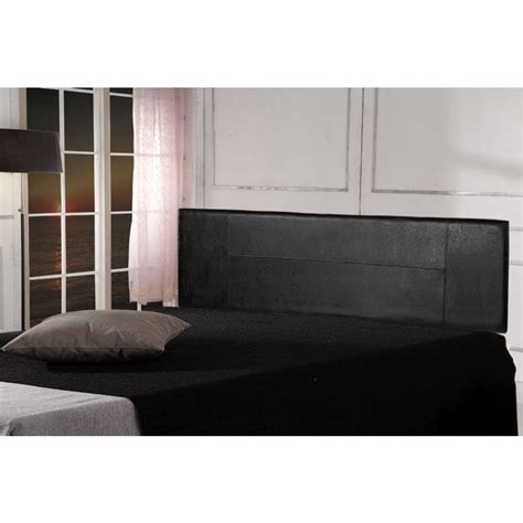 king size pu leather headboard bed in black buy