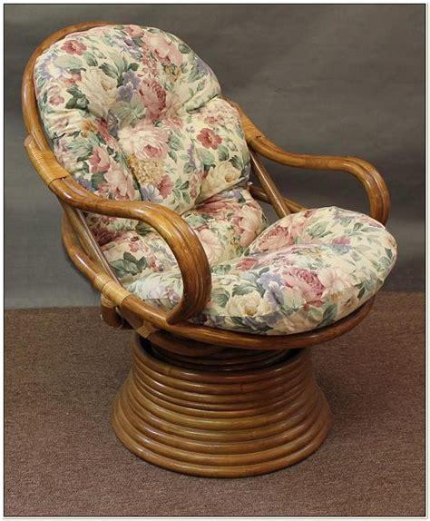 rattan coil base swivel rocker chair replacement cushion cushions for papasan swivel chair chairs home