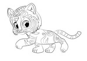 shimmer and shine coloring pages printable shimmer and shine coloring pages of 2017