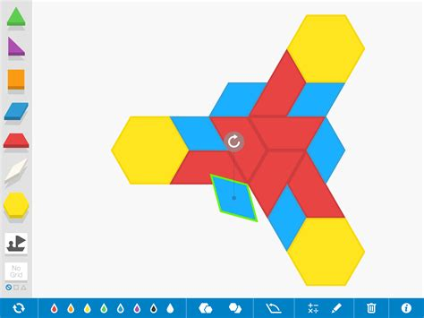 Pattern Shapes App | pattern shapes by the math learning center educator