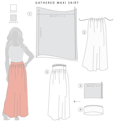 17 ideas about maxi skirt tutorial on diy