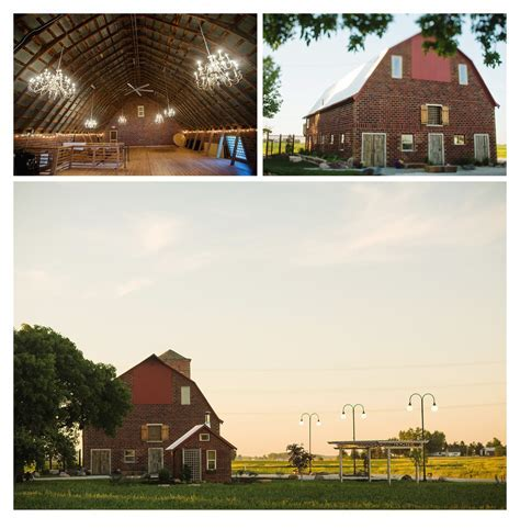 Keller Brick Barn   Rustic Barn Wedding Venue   Des Moines