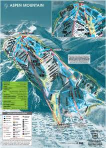maps aspen colorado aspen mountain colorado ski country usa