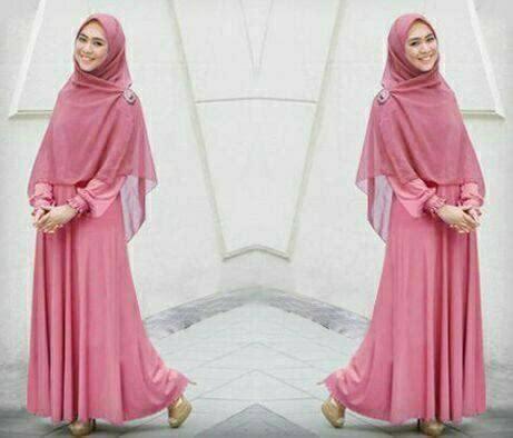 Gamis Alvina Syari jual beli gamis syari oki busana muslim wanita