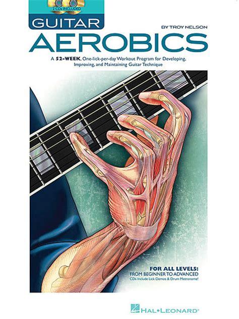 guitar aerobics sheet music by troy nelson sku hl 695946 sheet music plus