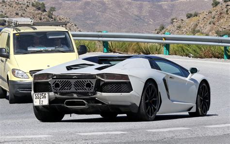 Lamborghini New by Spied New Lamborghini Aventador Variant Incoming Could