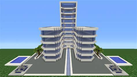 modern hotel minecraft tutorial how to make a modern hotel 3