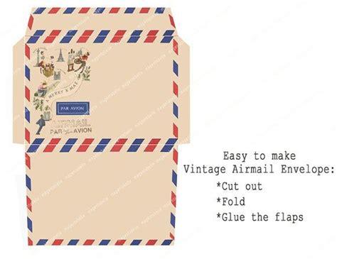 airmail envelope printable pinterest the world s catalog of ideas