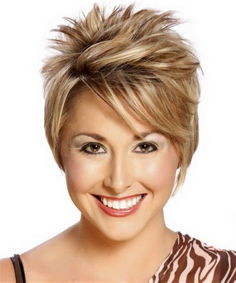 round faca hair cut over 40 over 40 hairstyles for round faces short hairstyle 2013