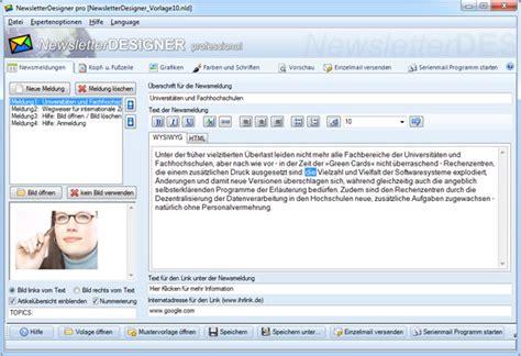 Design Pro Vorlagen Erstellen Newsletter Designen Newsletter Vorlagen Newsletter