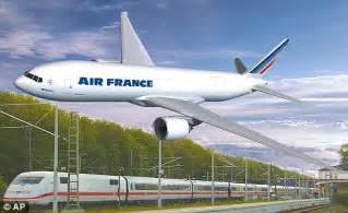 air france may become train france to fight fuel costs