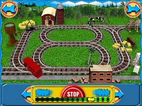 screens: thomas and friends: building the new line pc