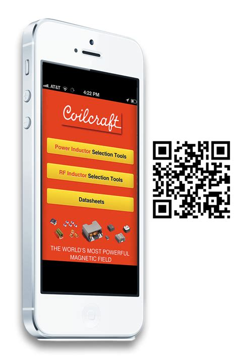 coilcraft inductor finder coilcraft launches new design tool app for smart phones