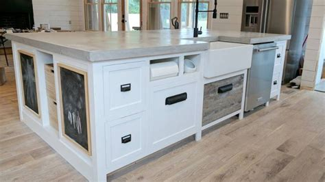 Make Your Own Granite Countertop by How To Make Your Own Concrete Countertops Simplemost