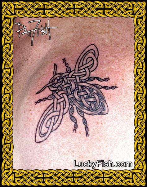 celtic tattoo portfolio luckyfish inc and tattoo santa