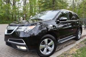 2011 Acura Mdx For Sale 2011 Acura Mdx Sh Awd Black For Sale Craigslist Used