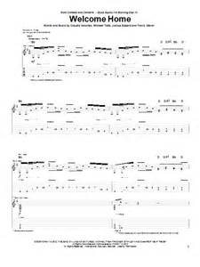 coheed and cambria welcome home welcome home by coheed and cambria guitar tab guitar