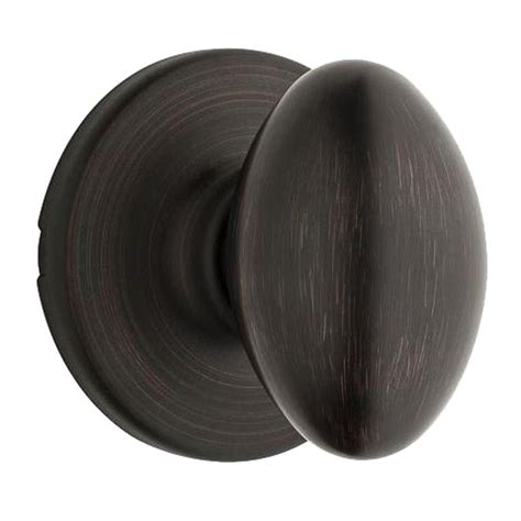 Closet Door Knobs Home Depot by Kwikset Aliso Venetian Bronze Closet Knob 200ao 11p
