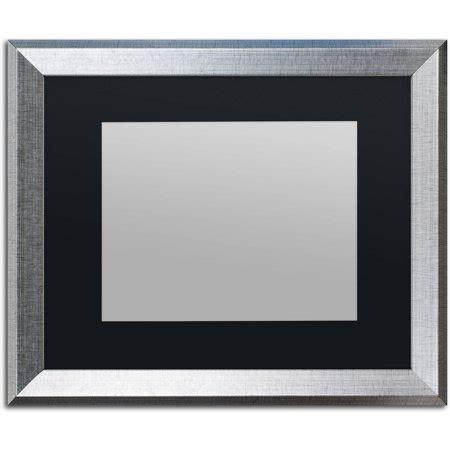 trademark fine art heavy duty 16x20 silver picture frame