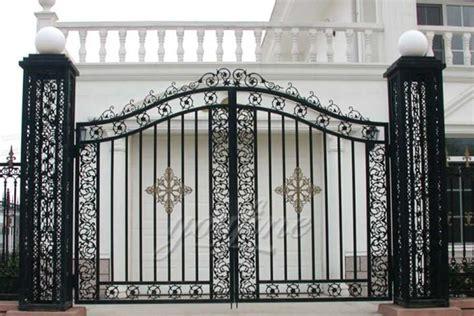 simple cast door iron gate designs  fine sculpture