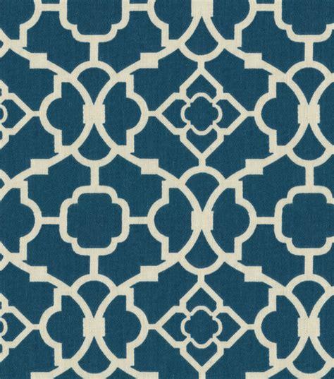 joann fabrics curtains home decor fabric waverly lovely lattice lapis jo ann