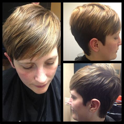 highlight a pixie cut pixie haircut highlights short pixie haircuts