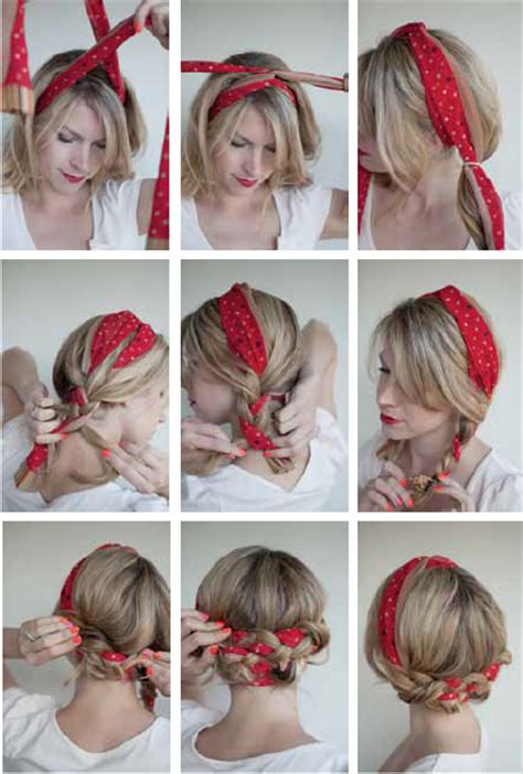 motorcycle hairstyles how do you wear your hair her 16 beautiful hairstyles with scarf and bandanna pretty