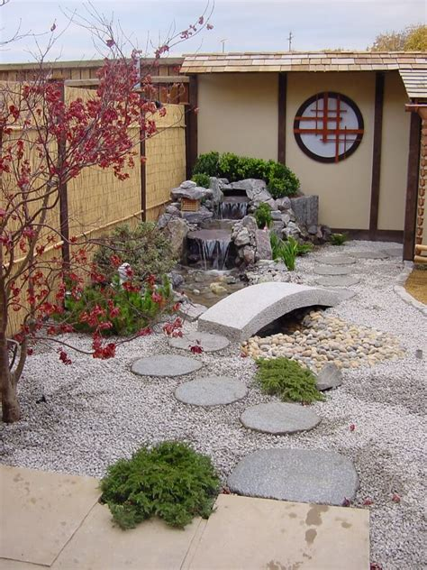 japanese stream  sittingbourne build  japanese garden uk
