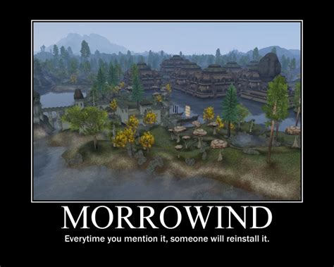 Morrowind Memes - there s a reason morrowind is considered to be such a good game by redondepremiere meme center