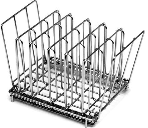 Rack Of Sous Vide by Lipavi Sous Vide Rack Model L10 Stainless Steel Square