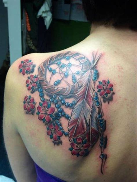 realistic dreamcatcher tattoo shoulder realistic dreamcatcher tattoo by tantrix body art