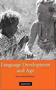 development and aging books language development and age 9780521872973