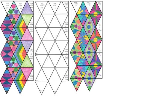 How To Make A Hexaflexagon Out Of Paper - 59 best flextangle kaleidocycle images on