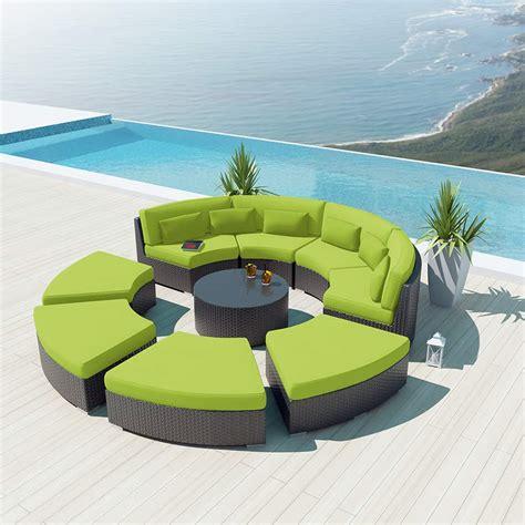 piece  outdoor sectional sofa set modavi  uduka