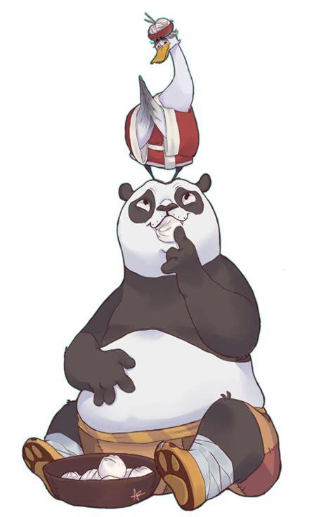 Kaos Kungfu Panda Kungfu Panda Po And Mr Ping By Crion kung fu panda po and mr ping by qeius on deviantart