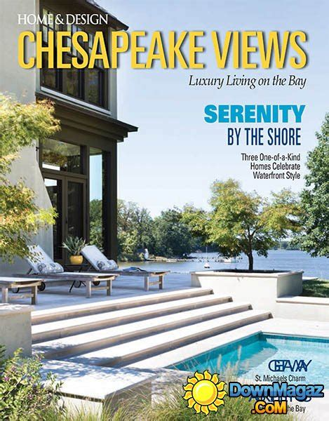 home design magazines usa home design usa chesapeake views winter 2016